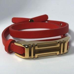 Tory Burch fit flex Ted bracelet